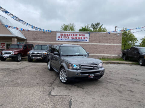2008 Land Rover Range Rover Sport for sale at Brothers Auto Group in Youngstown OH