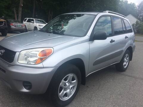 2005 Toyota RAV4 for sale at BRATTLEBORO AUTO SALES in Brattleboro VT