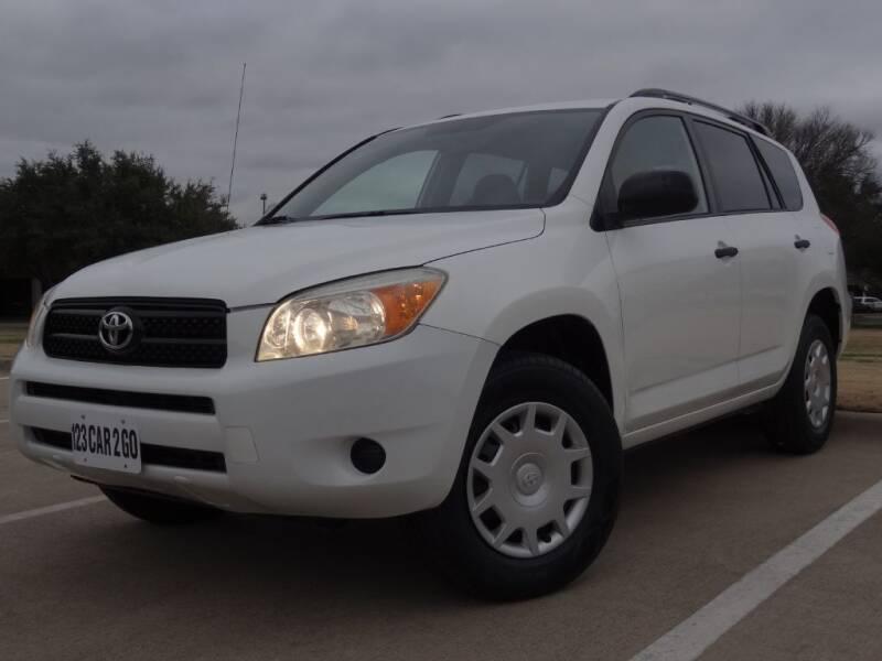 2008 Toyota RAV4 for sale at 123 Car 2 Go LLC in Dallas TX