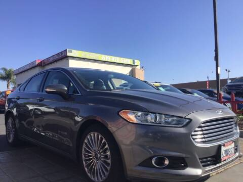2013 Ford Fusion Hybrid for sale at CARCO SALES & FINANCE in Chula Vista CA