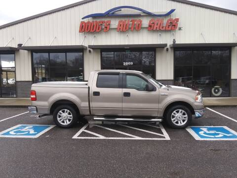 2004 Ford F-150 for sale at DOUG'S AUTO SALES INC in Pleasant View TN
