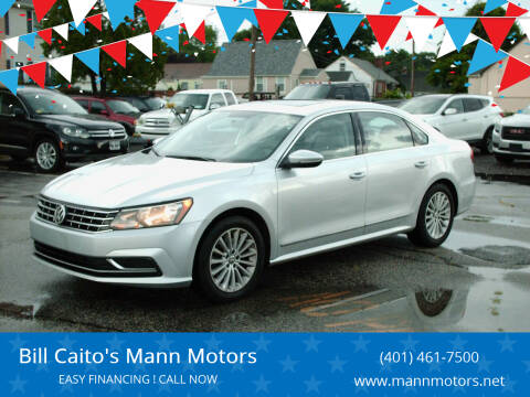 2017 Volkswagen Passat for sale at Bill Caito's Mann Motors in Warwick RI