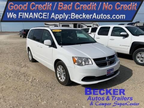 2014 Dodge Grand Caravan for sale at Becker Autos & Trailers in Beloit KS