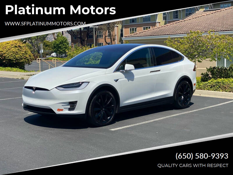2020 Tesla Model X for sale at Platinum Motors in San Bruno CA