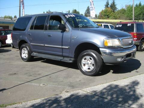1999 Ford Expedition for sale at UNIVERSITY MOTORSPORTS in Seattle WA
