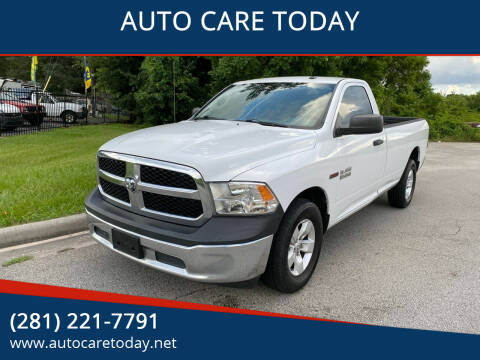 2015 RAM Ram Pickup 1500 for sale at AUTO CARE TODAY in Spring TX