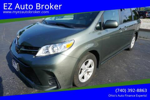 2020 Toyota Sienna for sale at EZ Auto Broker in Mount Vernon OH