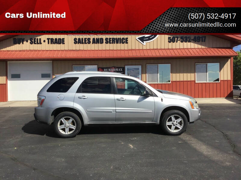 2005 Chevrolet Equinox for sale at Cars Unlimited in Marshall MN