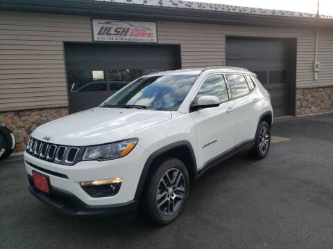 2017 Jeep Compass for sale at Ulsh Auto Sales Inc. in Summit Station PA