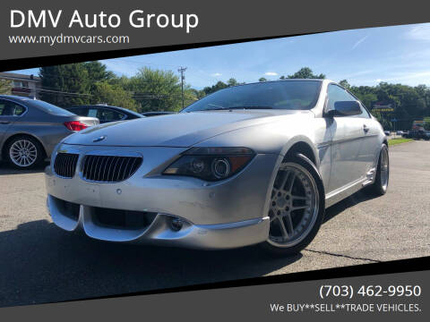2004 BMW 6 Series for sale at DMV Auto Group in Falls Church VA