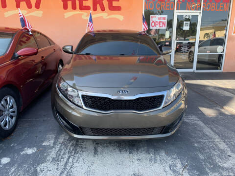 2012 Kia Optima for sale at DREAM CARS in Stuart FL