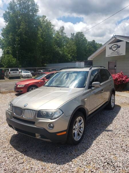 2007 BMW X3 for sale at JM Car Connection in Wendell NC