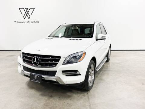 2014 Mercedes-Benz M-Class for sale at Wida Motor Group in Bolingbrook IL