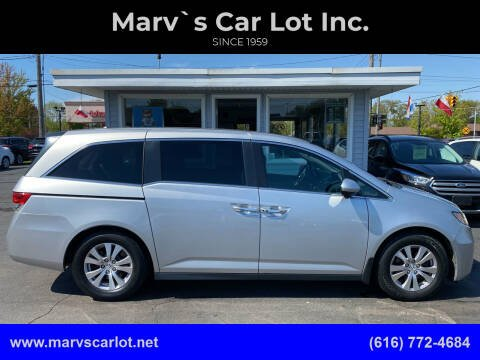 2014 Honda Odyssey for sale at Marv`s Car Lot Inc. in Zeeland MI
