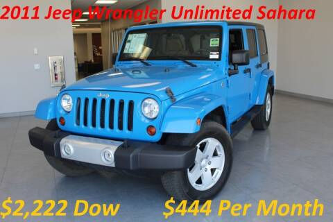 2011 Jeep Wrangler Unlimited for sale at Auto Max Brokers in Palmdale CA