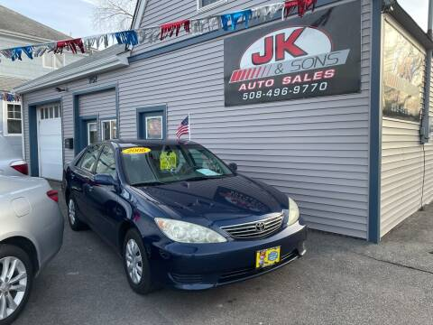 2006 Toyota Camry for sale at JK & Sons Auto Sales in Westport MA