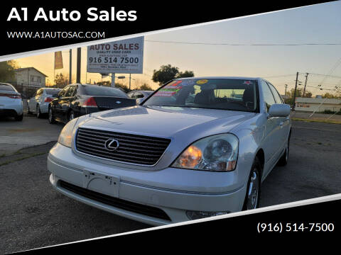 2002 Lexus LS 430 for sale at A1 Auto Sales in Sacramento CA