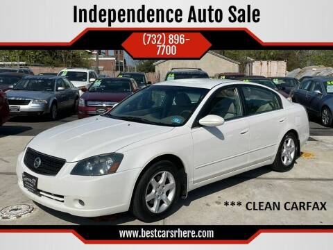 2006 Nissan Altima for sale at Independence Auto Sale in Bordentown NJ
