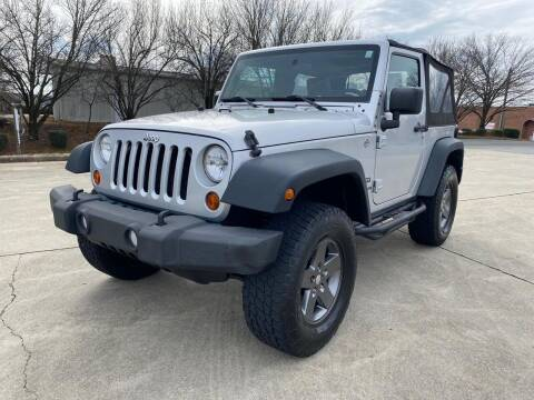 2010 Jeep Wrangler for sale at Triple A's Motors in Greensboro NC