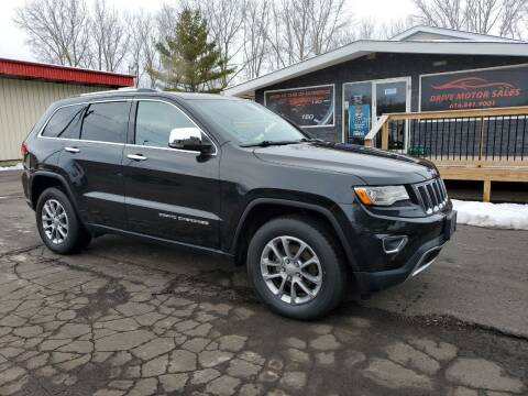 2015 Jeep Grand Cherokee for sale at Drive Motor Sales in Ionia MI