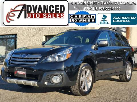 2013 Subaru Outback for sale at Advanced Auto Sales in Tewksbury MA