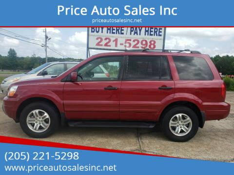 2005 Honda Pilot for sale at Price Auto Sales Inc in Jasper AL