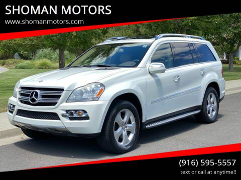 2010 Mercedes-Benz GL-Class for sale at SHOMAN AUTO GROUP in Davis CA