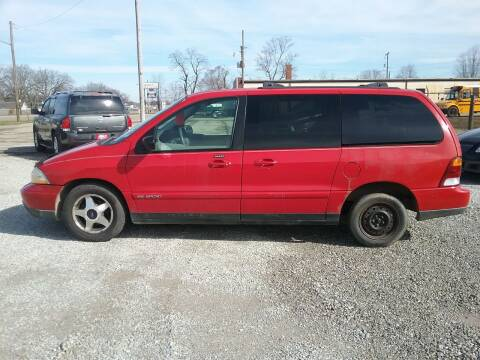 2001 Ford Windstar for sale at MIKE'S CYCLE & AUTO in Connersville IN