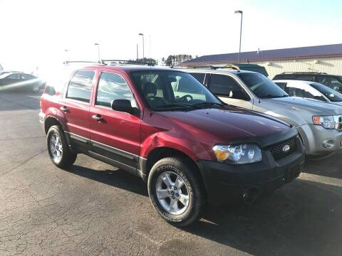 2006 Ford Escape for sale at Cannon Falls Auto Sales in Cannon Falls MN