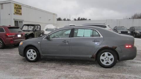 2008 Chevrolet Malibu for sale at Superior Auto of Negaunee in Negaunee MI