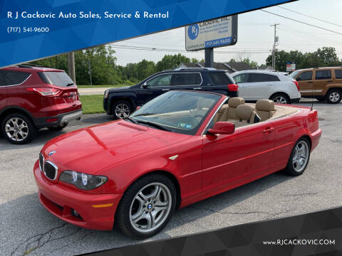 2005 BMW 3 Series for sale at R J Cackovic Auto Sales, Service & Rental in Harrisburg PA