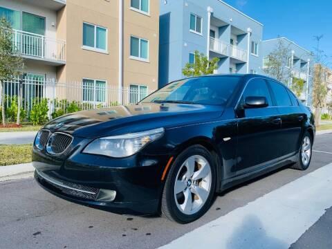 2008 BMW 5 Series for sale at LA Motors Miami in Miami FL