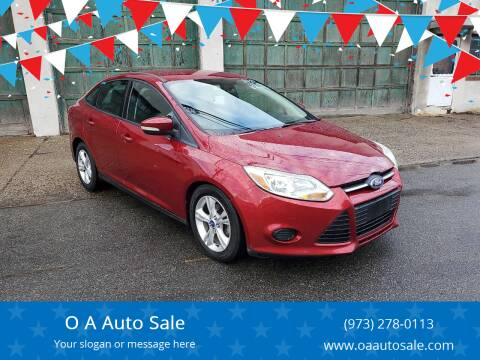 2013 Ford Focus for sale at O A Auto Sale in Paterson NJ