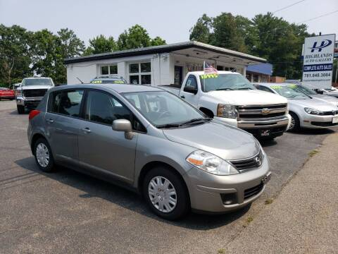 2011 Nissan Versa for sale at Highlands Auto Gallery in Braintree MA