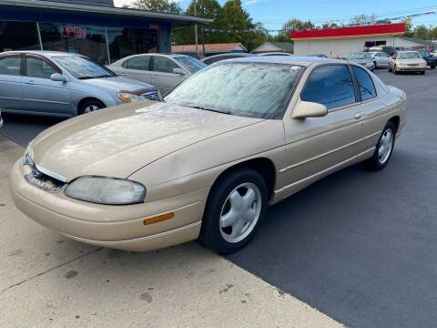 1999 Chevrolet Monte Carlo for sale at Wise Investments Auto Sales in Sellersburg IN