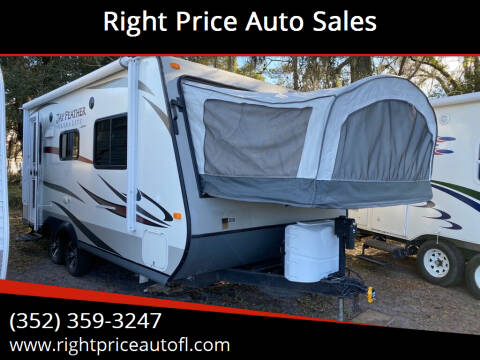 2014 Jayco Jay Feather for sale at Right Price Auto Sales in Waldo FL