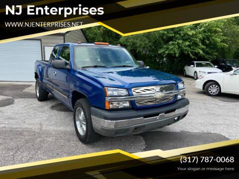 2004 Chevrolet Silverado 1500 for sale at NJ Enterprises in Indianapolis IN