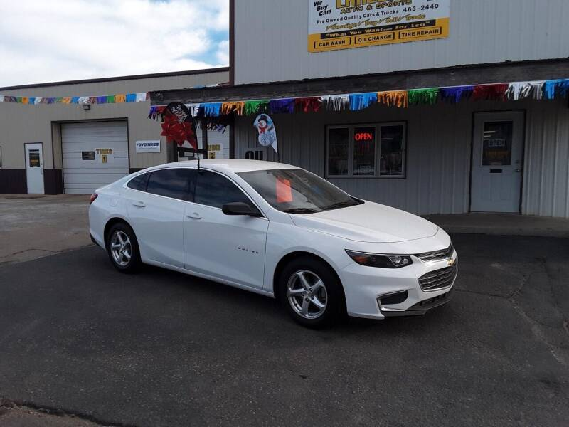 2017 Chevrolet Malibu for sale at Lakeside Auto & Sports in Garrison ND