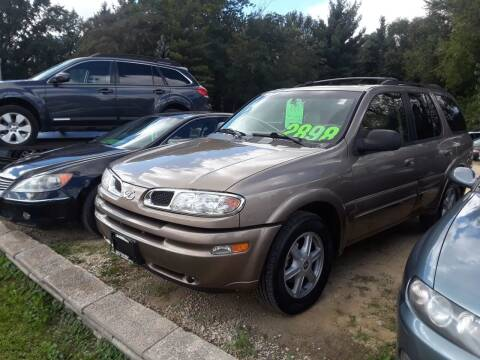 2002 Oldsmobile Bravada for sale at Northwoods Auto & Truck Sales in Machesney Park IL