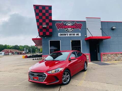 2017 Hyundai Elantra for sale at Chema's Autos & Tires - Chema's Autos And Tires #2 in Tyler TX
