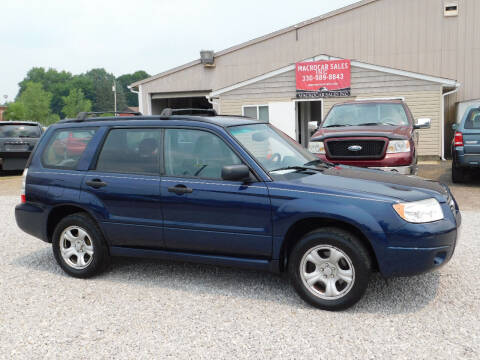 2006 Subaru Forester for sale at Macrocar Sales Inc in Akron OH