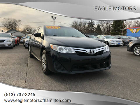 2012 Toyota Camry for sale at Eagle Motors in Hamilton OH