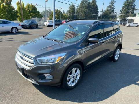 2018 Ford Escape for sale at TacomaAutoLoans.com in Tacoma WA