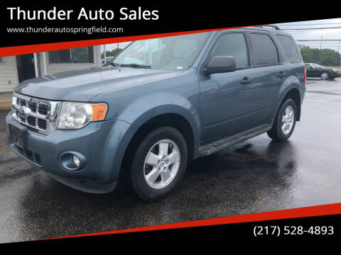 2010 Ford Escape for sale at Thunder Auto Sales in Springfield IL