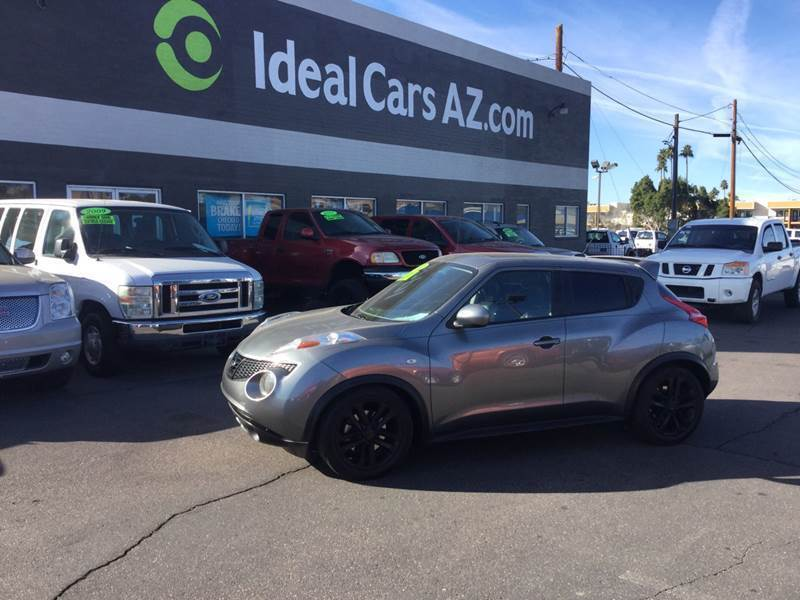 2012 Nissan JUKE for sale at Ideal Cars in Mesa AZ