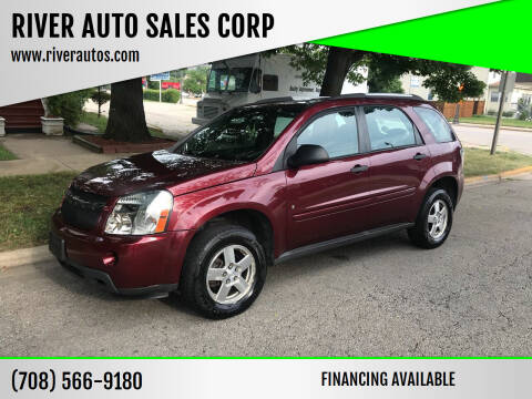 2008 Chevrolet Equinox for sale at RIVER AUTO SALES CORP in Maywood IL