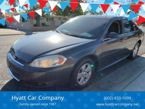 2011 Chevrolet Impala for sale at Hyatt Car Company in Phoenix AZ