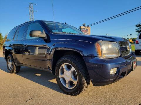 2008 Chevrolet TrailBlazer for sale at CarNation Auto Group in Alliance OH