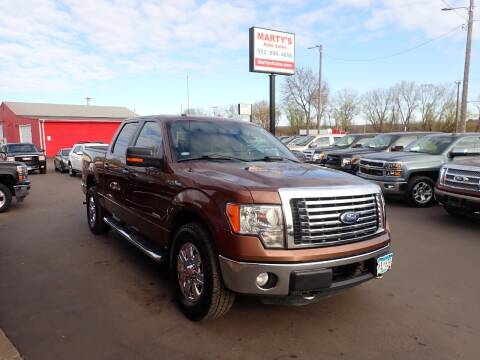 2011 Ford F-150 for sale at Marty's Auto Sales in Savage MN