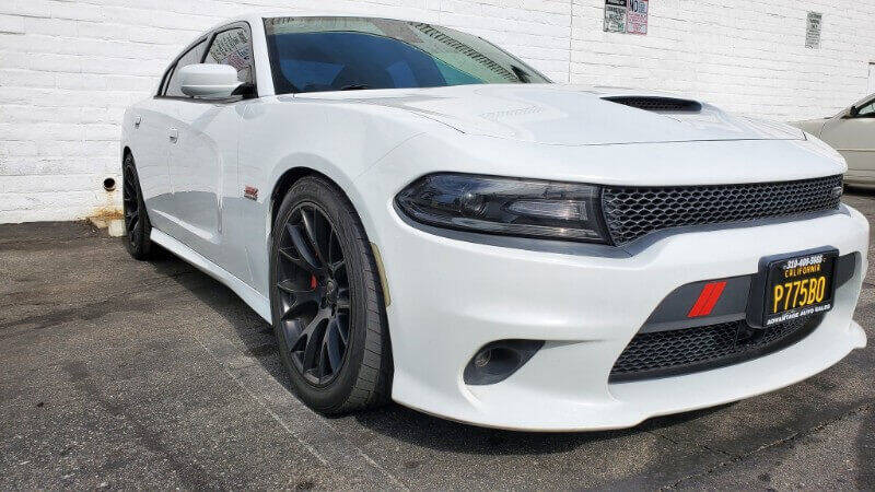 2015 Dodge Charger for sale at ADVANTAGE AUTO SALES INC in Bell CA